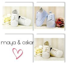 BABY BOYS FAUX LEATHER FORMAL PRAM SHOES CHRISTENING WEDDING SMART 3-18m