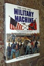 Civil War Military Machine,Drury,Gibbons,VG-/G+,HB,1993,First   Q