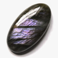 Cts. 27.10 Natural Purple Labradorite Cabochon Oval Cab Loose Gemstones