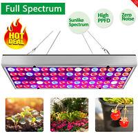 75 Led Grow Light Full Spectrum For All Indoor Plant Veg Flower Hydroponic Bloom
