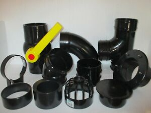 4 INCH (110MM) SOLVENT WELD PIPE / PIPE FITTINGS KOI POND