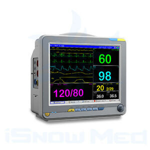 12 inch Standard Patient Monitor to monitor ECG, RESP, SPO2, NIBP, TEM, PR