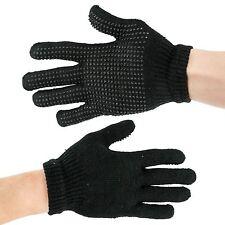 Magic Gripper Gloves Mens Boys Girls Womens Black Thermal Winter Warm One Size