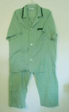 Mens JC Penney Green Pajama Set, Size L (42-44)