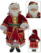 "Katherine's Collection 24"" Noel Santa Claus Christmas Doll 28-628036"