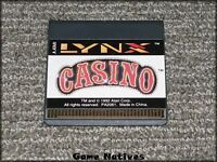 Lynx Casino Game Only - Atari Lynx - FREE SHIPPING!