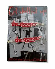 The Stooges Get Dolled Up Hair Bobby Pin Set of 2 New Official Iggy Pop