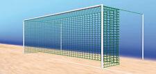 Fußballtornetz Tornetz  7,50x2,50m/1,20x2,50m,  Farbe weiss, 1 Paar (2 Stück)