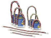 Aspen Pet Comfy Perch Multicolor Rope for Birds
