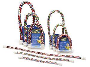 Aspen Pet Comfy Perch Multicolor Rope for Birds