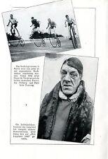 Berliner Sechstagerennen - jetzt mit Hochrädern ( April...) Photo-Collage c.1930