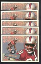 JERRY RICE LOT OF (5) 2001 FLEER TRADITION GLOSSY #269 SAN FRANCISCO 49ERS $15