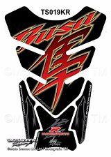 Suzuki Hayabusa GSX1300R Black Motorcycle Tank Pad Motografix 3D Gel Protector