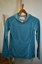 SIMMS Guide Series Women's Small Hoodie *Mint* Insect Shield SolarFlex UPF 50