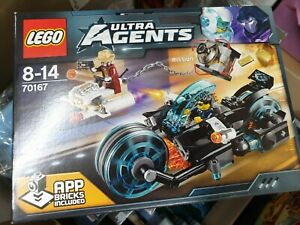 Brand New Lego 70167 - Ultra Agents - Invizable Gold Getaway sealed