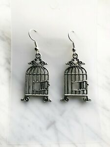 French Bird Cage Earrings