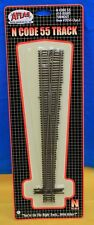 N Scale - ATLAS 2055 Code 55 # 10 Right Hand Manual Turnout
