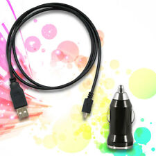 Auto Car Charger + USB Sync Data Cable for AT&T LG Nitro HD P930 Neon 2 GW370