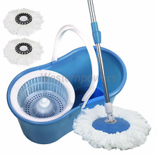 Spin Mop Cleaning System 360 W/ Best Bucket Microfiber Floor Not As seen on TV