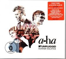 A-ha-MTV Unplugged-SUMMER SOLSTICE - 2 CD + DVD-Neuf/Neuf dans sa boîte