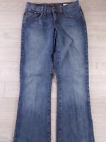 CRUEL GIRL womens size 5 LONG blue medium wash thick 100% cotton slim jeans