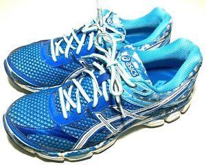 ASICS Womens Size 10.5 Gel-Cumulus 16 Road Trail Running Jogging Shoe T4M5N