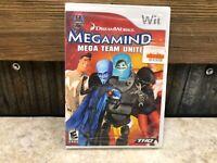 Megamind: Mega Team Unite (Nintendo Wii, 2010) - FACTORY SEALED