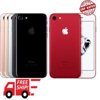 Apple iPhone7 / 7Plus 32/128/256GB Matte Jet Black Rose Gold Silver Unlocked A++
