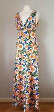 MELA LOVES LONDON woman's multicoloured floral maxi dress size 10