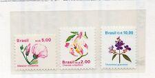 Brasil Flores Series del año 1989-90 (CT-980)