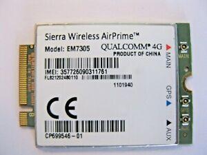 Sierra AirPrime wireless 3G 4G EM7305 LTE HSPA+ GPS 100Mbps NGFF M.2