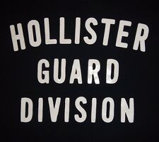 HOLLISTER- HOLLISTER GUARD DIVISION-Women's size M-Graphic T-Shirt-FREE SHIPPING