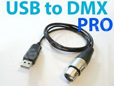 USB DMX PRO 512 DMX Channels USB Controller Interface for PC & Laptop