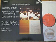 BIS LP-304 Tubin Symphonies Nos. 2 & 6 / Jarvi / Swedish RSO