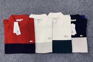 Lacoste Men's Slim Fit Polo Golf Shirt - S M L XL XXL XXXL