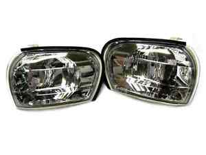 Corner Signal Lights Pair for Subaru Impreza WRX STI GC8 93-00 Crystal Clear