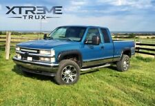 Textured Black 88-98 GMC Chevy C1500 K1500 Pocket Rivet Fender Flares Bolt On