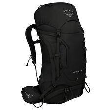 Osprey Kestrel 48 Mens Rucksack Hiking - Black All Sizes