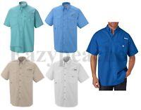Columbia Men's Bonehead Short-Sleeve Work Shirt, Sun, Fishing, Sizes S-3XL, 7130