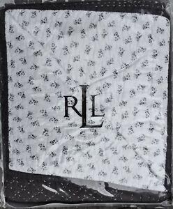 NIP $270 Ralph Lauren Tallmadge Hall FULL/QUEEN Quilt Brown/Cream Floral Cotton