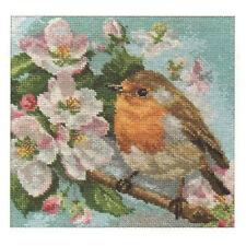 Alisa Cross Stitch Kit-Robin