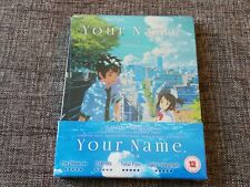 YOUR NAME Collector's Edition Limited Blu-Ray + DVD + CD Steelbook UK NEW Anime
