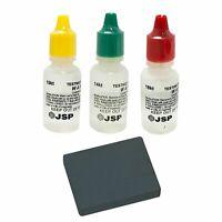JSP Gold Testing Acid 10k 14k 18k Kit + Scratch Tester Stone