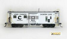 Tangent Scale Models Chessie I-18 ICC Bay Window Caboose Safety White B&o 60015