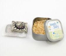 Princess Tooth Fairy Box Pewter with Tin Gift Box