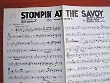 Stompin' At The Savoy - 1936 sheet music - 2nd Trumpet B flat- Benny Goodman