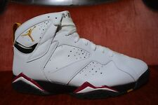 WORN 1X Nike Air Jordan Retro 7 VII Cardinal 2006 Release Size 13 304775-101
