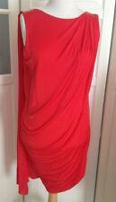 Versace for h&m vestido dress rojo red EUR tamaño 34 size us 4 UK 8 nuevo con etiqueta