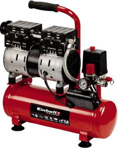 Einhell 4020600 Compressore 6 lt silenziato portatile piccolo aria compressa 6lt