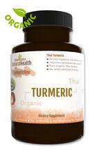 120 Organic Turmeric Capsules Curcumin Antioxidant & inflammation - 500 mg